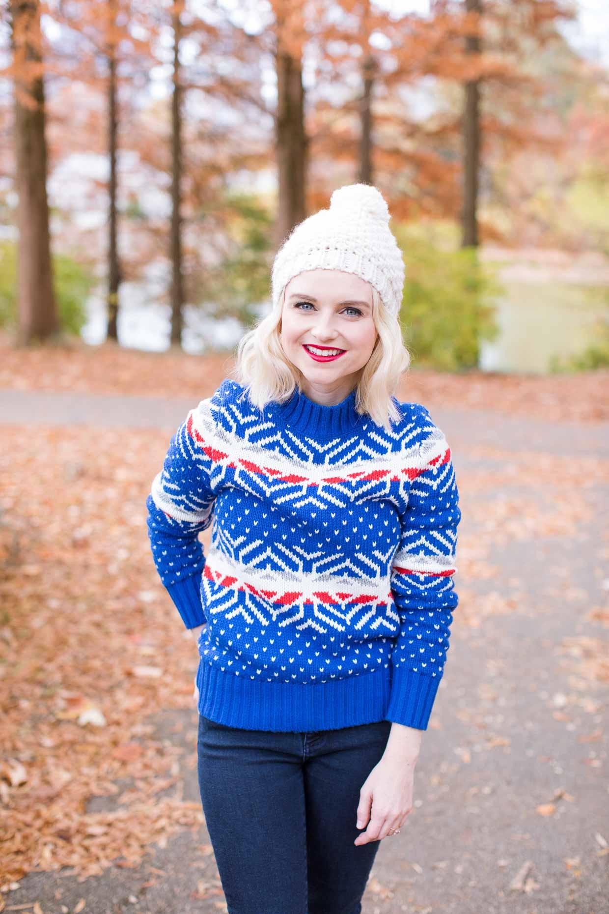 Christmas Sweater - Poor Little It Girl