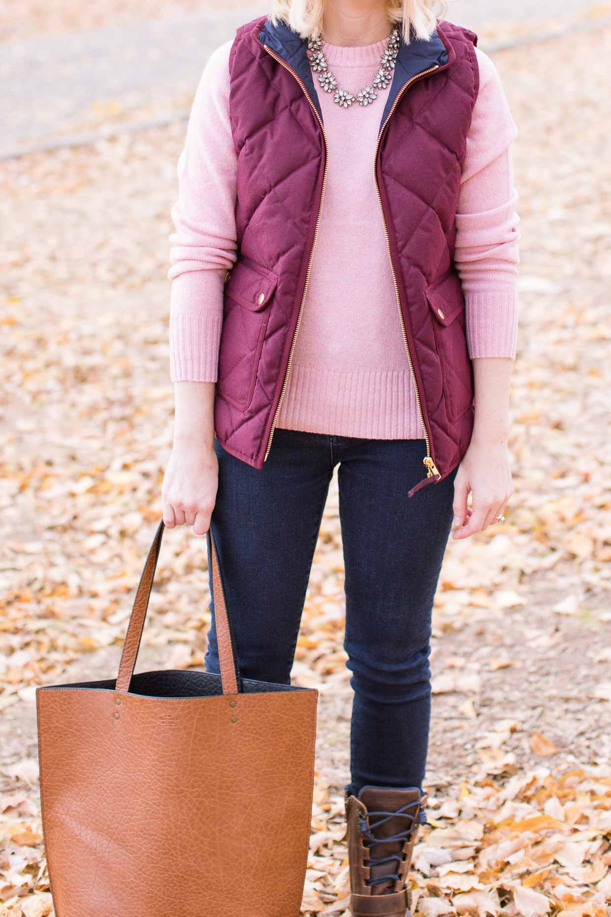J.Crew Excursion Quilted Vest - Poor Little It Girl