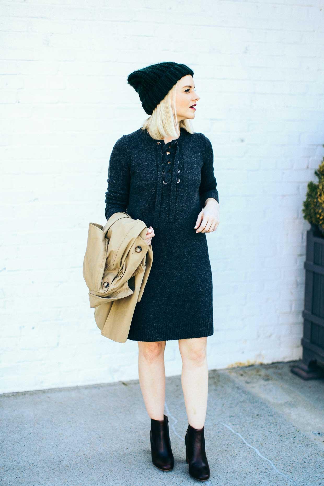 Madewell Sweater Dress - Poor Little It Girl