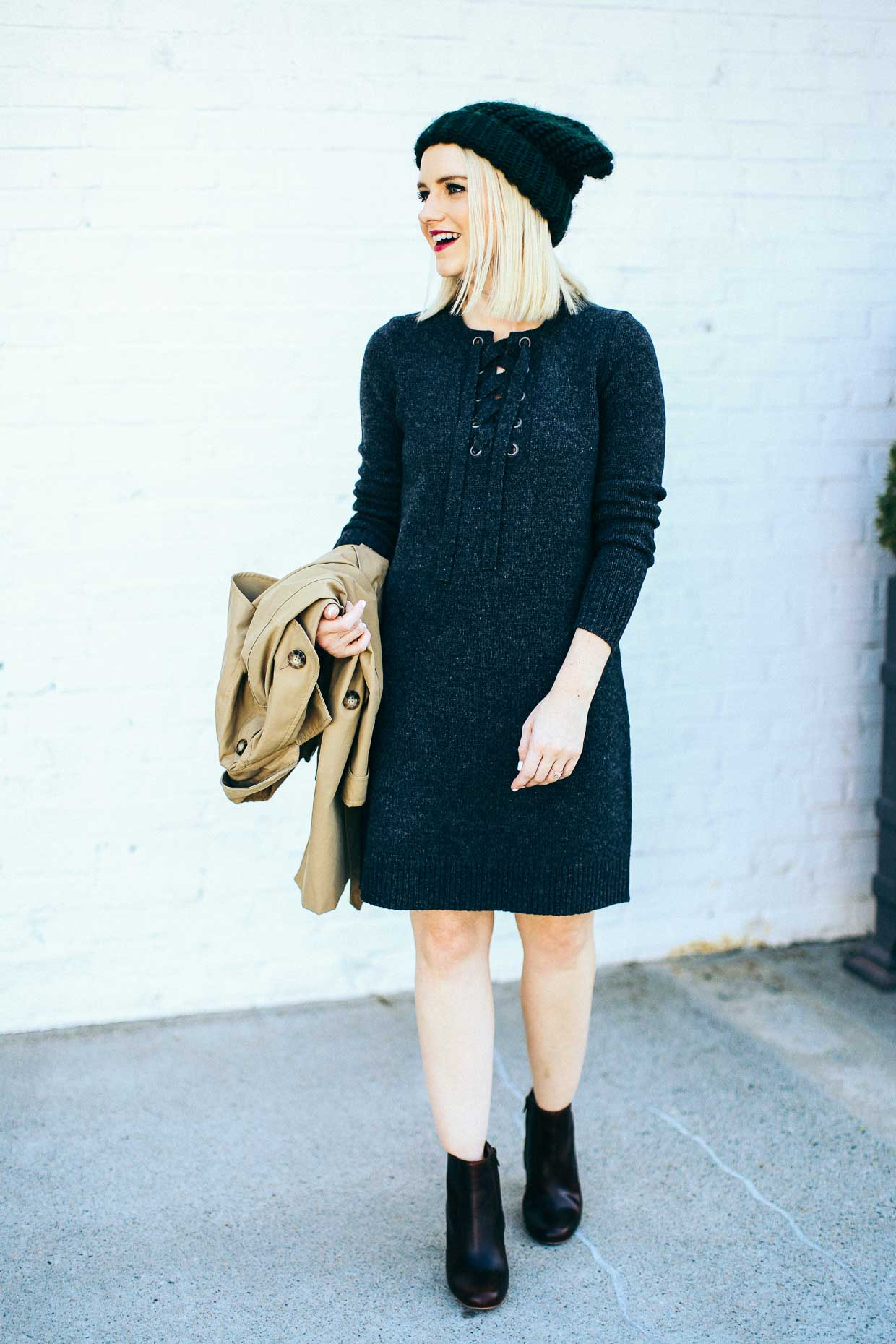 Madewell Sweater Dress - Poor Little It Girl