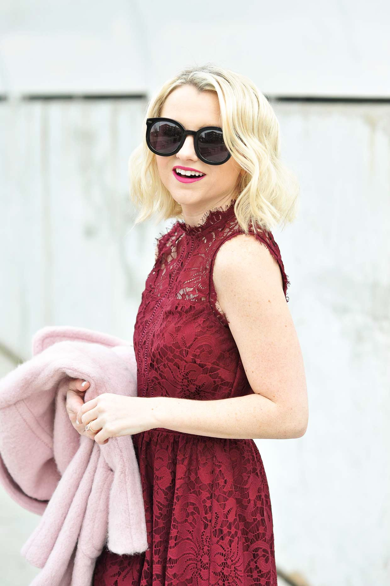 Lace Skater Dress - Poor Little It Girl