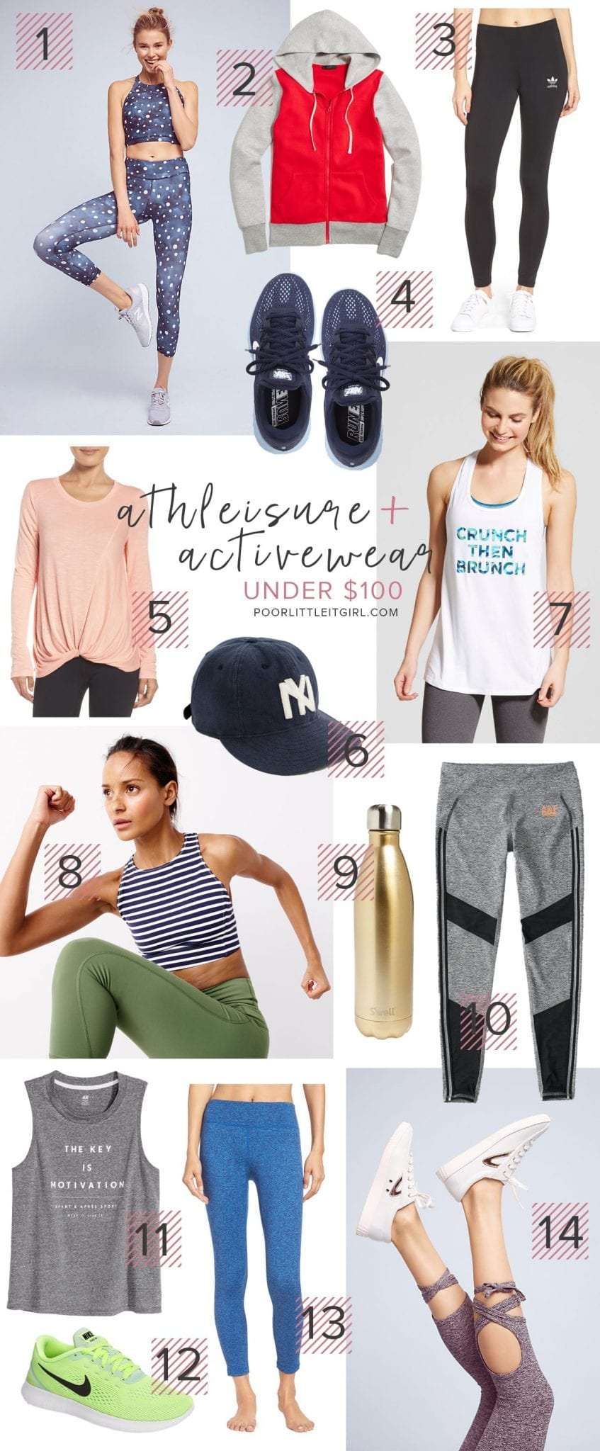 The Best Athleisure and Activewear Under $100 - Poor Little It Girl