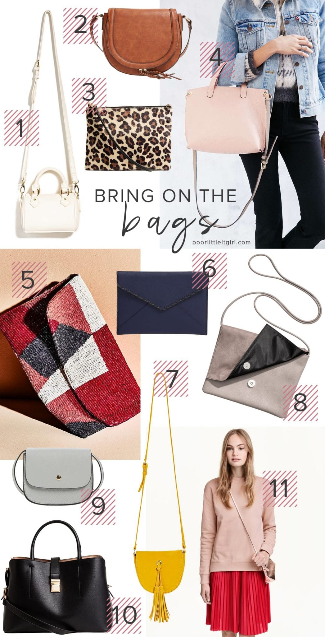Bring On The Bags - Under $100 - Poor Little It Girl