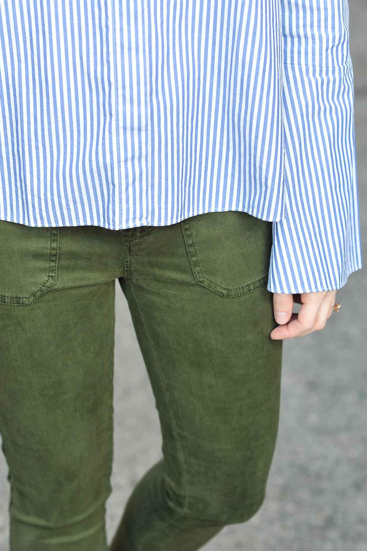 J.Crew Green Cargo Pants - Poor Little It Girl
