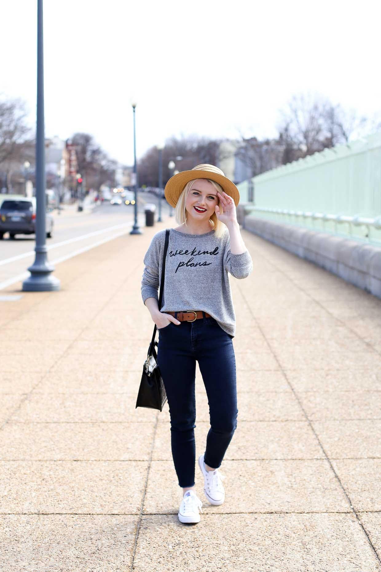 Cozy Crew Sweatshirt - Weekend Plans - Poor Little It Girl
