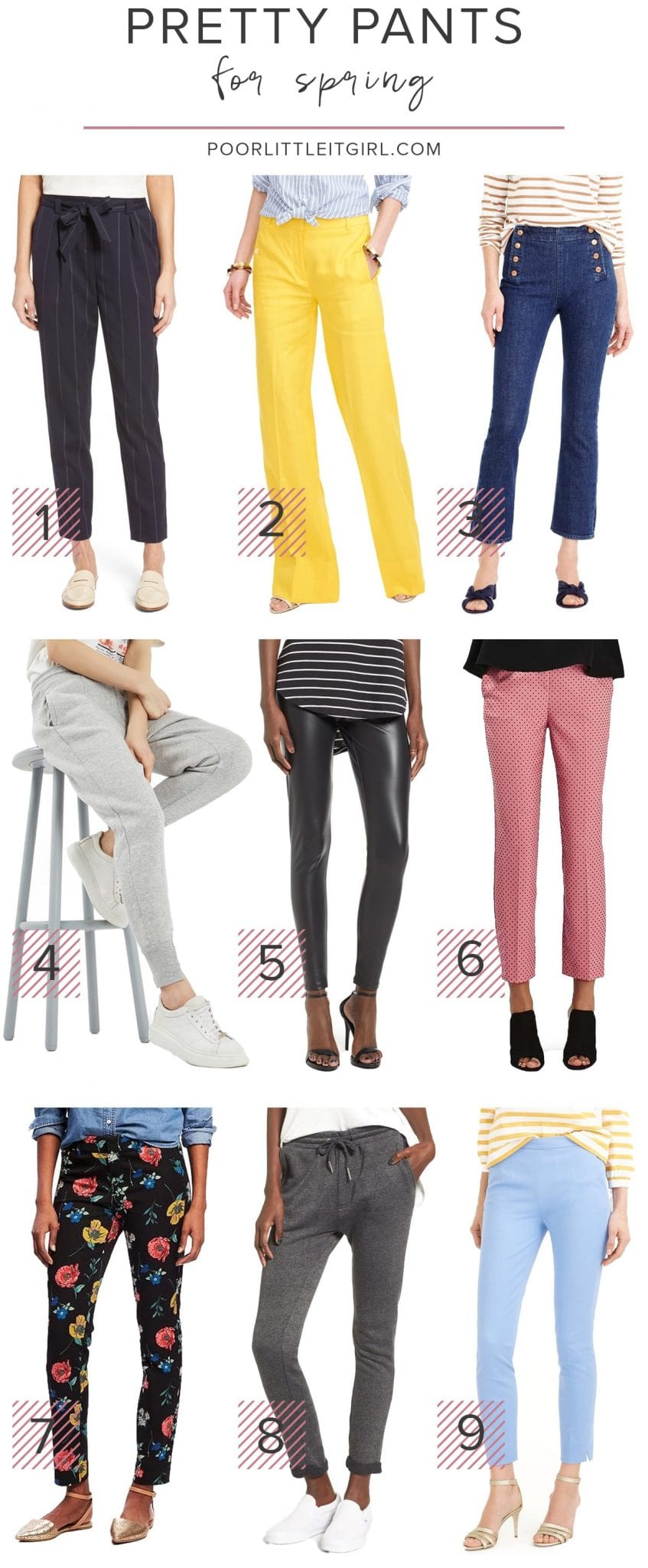 The Best Spring Pants Under $100 - Poor Little It Girl