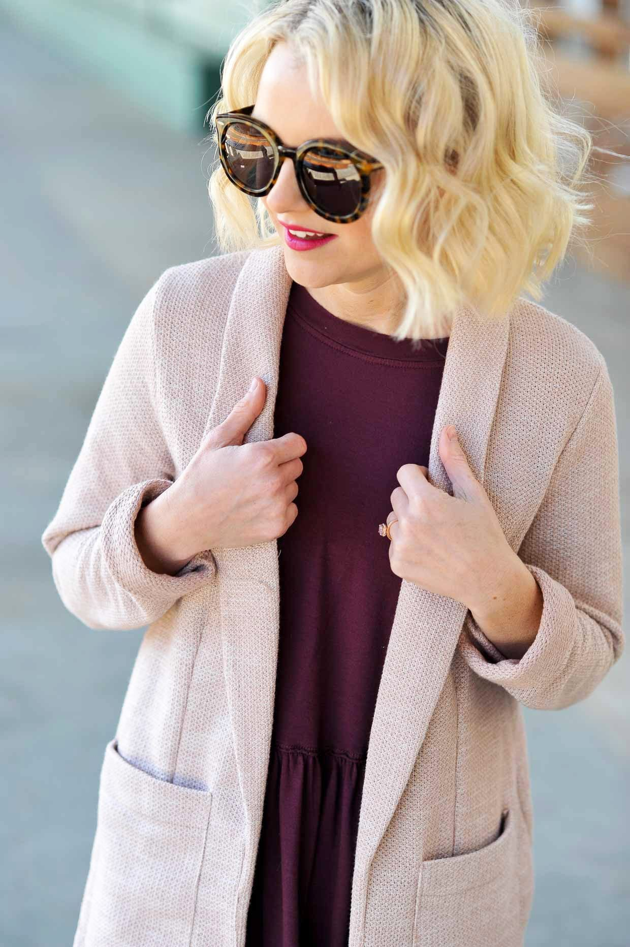 How To Style A Pink Blazer - Poor Little It Girl