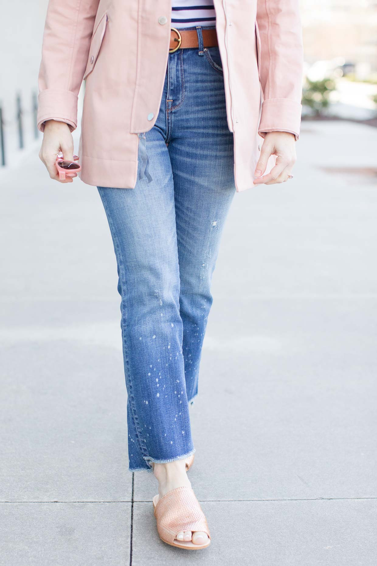 Abercrombie Pink Classic Raincoat - Poor Little It Girl