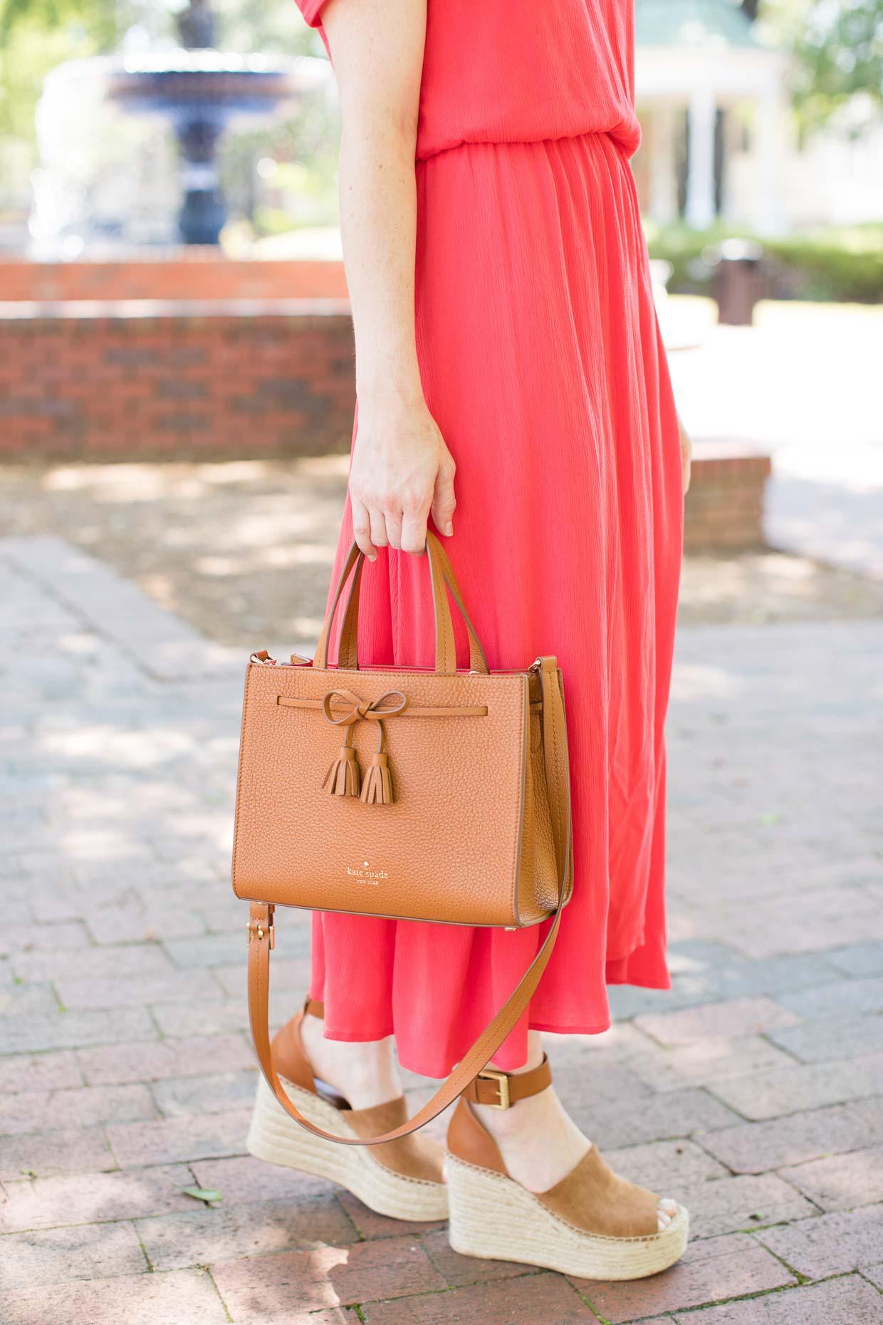 Wayf Blouson Midi Dress Under $100