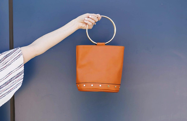 Ring Mini Bucket Bag - Best Spring Bag - Poor Little It Girl