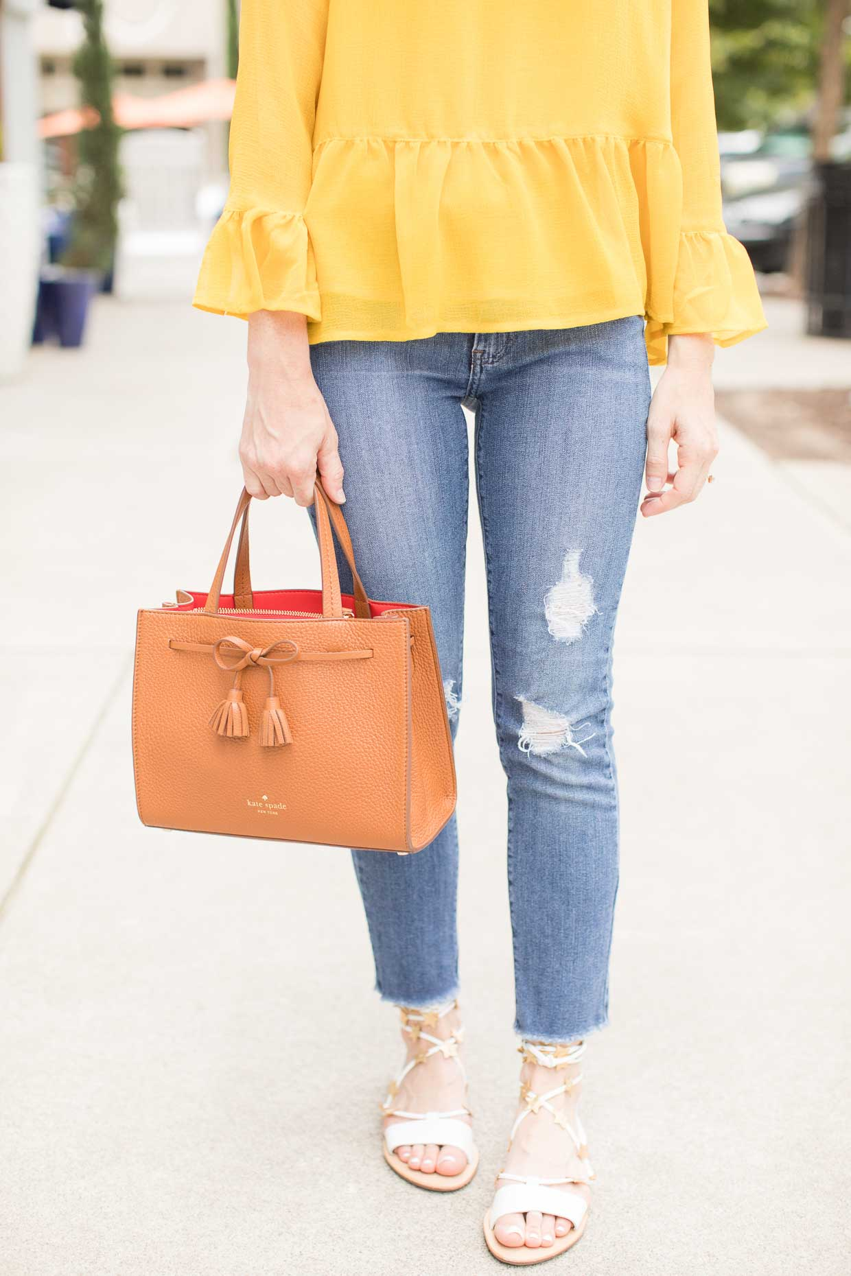 How To Style A Yellow Blouse 64
