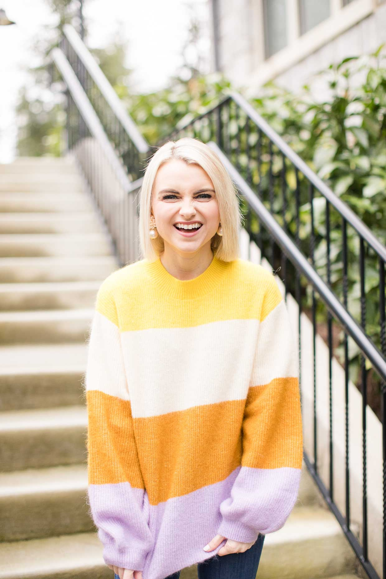 Vince Colorblock Sweater
