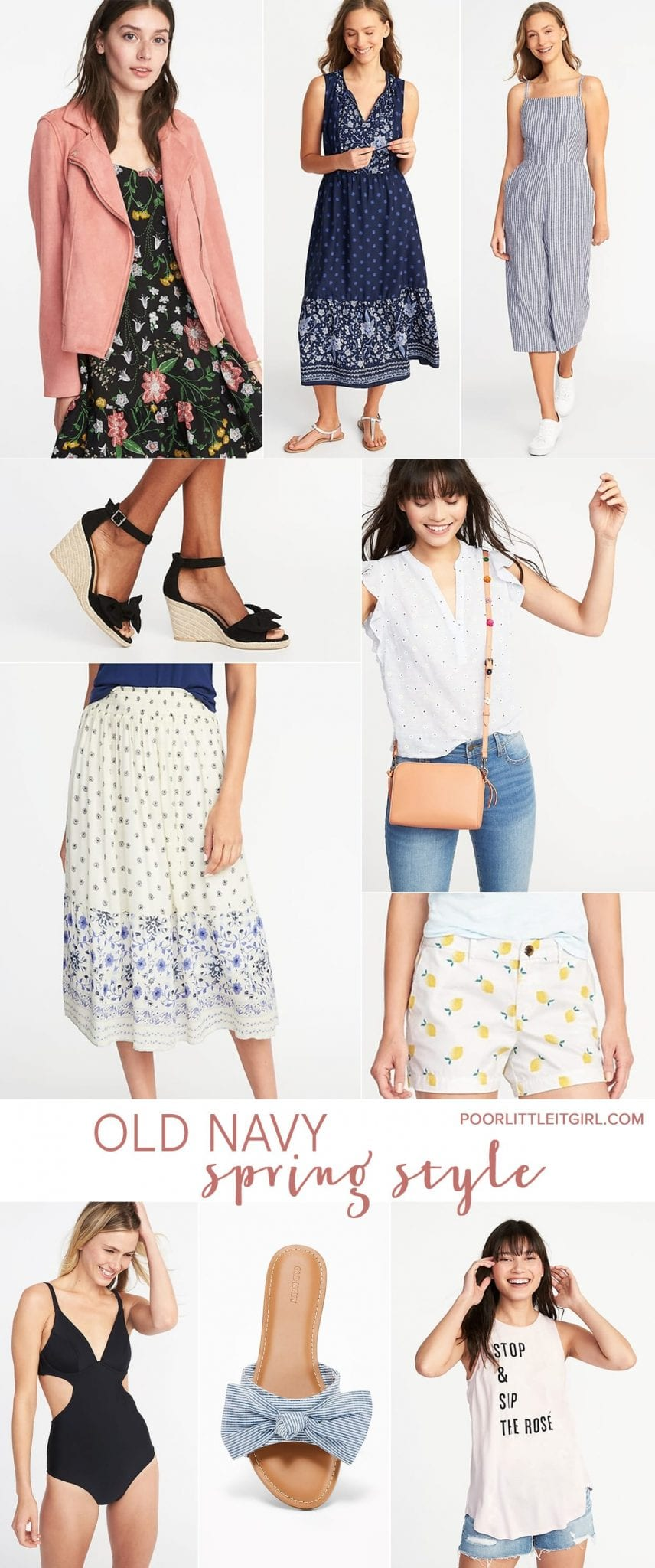 Old Navy Spring Fashion And Accessories - Poor Little It Girl