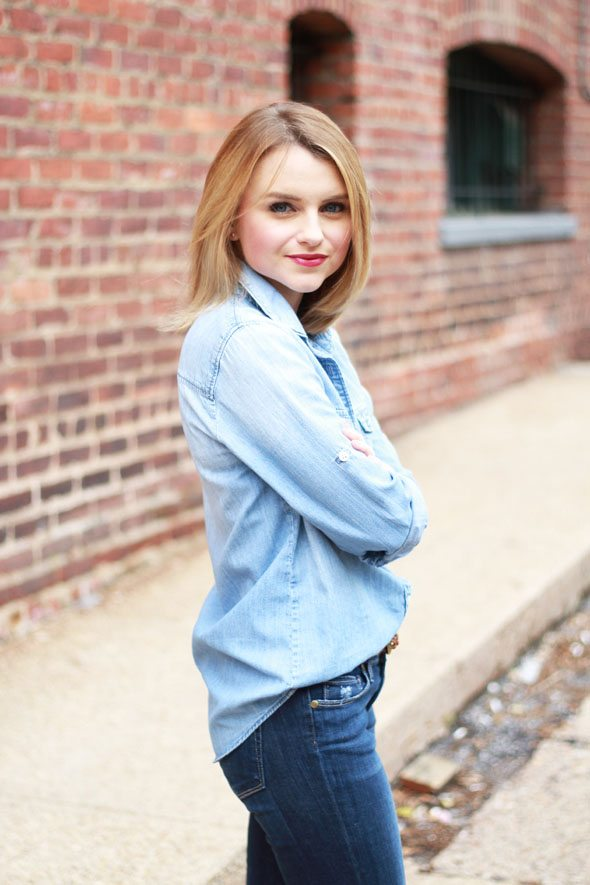 How To Style Denim on Denim The Right Way - Poor Little It ...