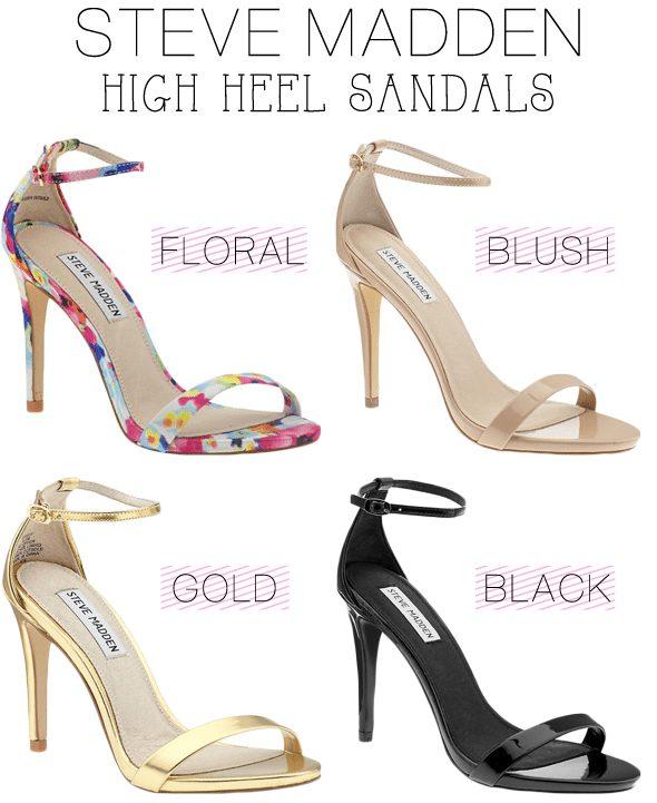 902d732d922 Weekly Weakness - Steve Madden High Heel Sandals - Poor Little It Girl