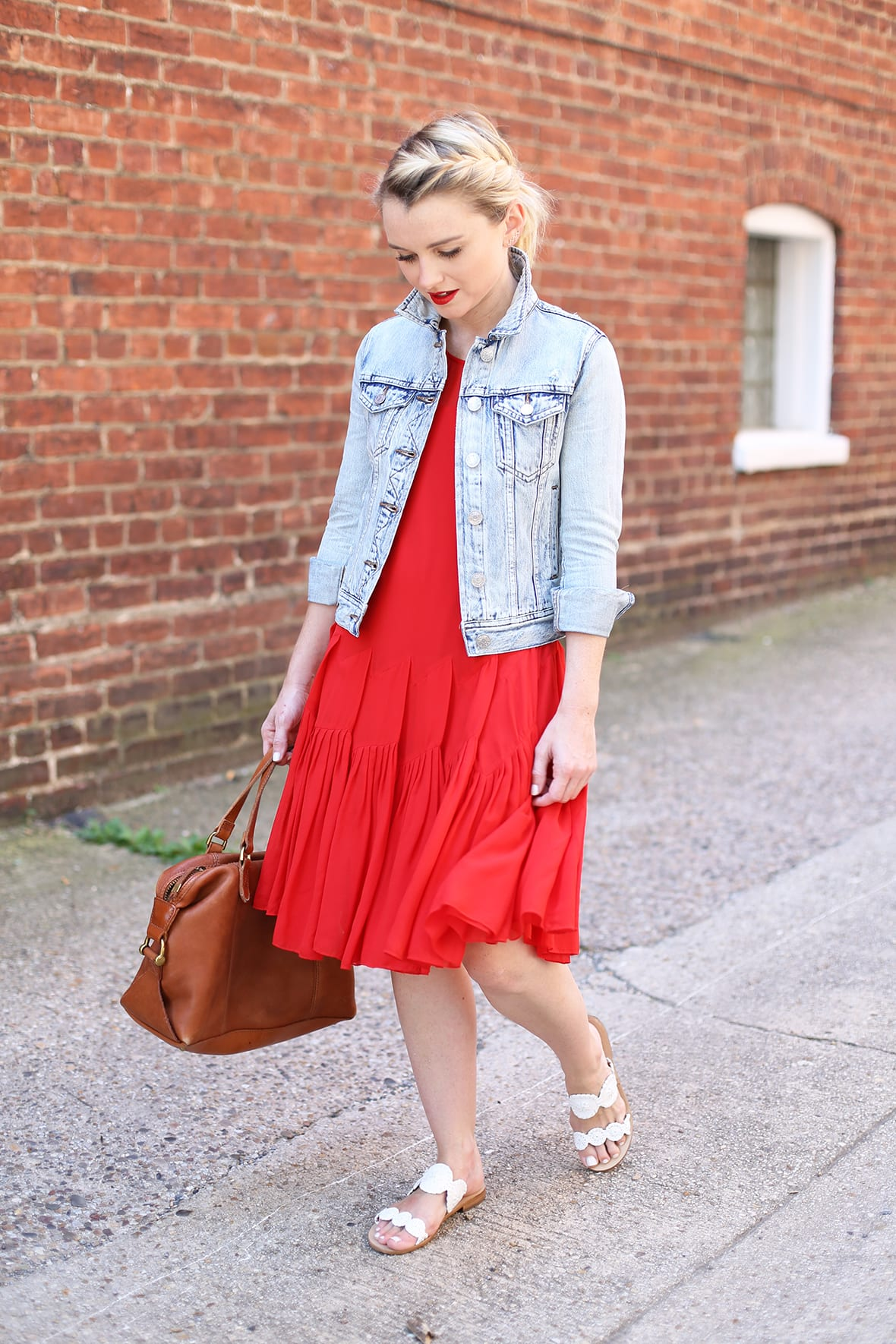 692c283a451e Red Dress And Jacket