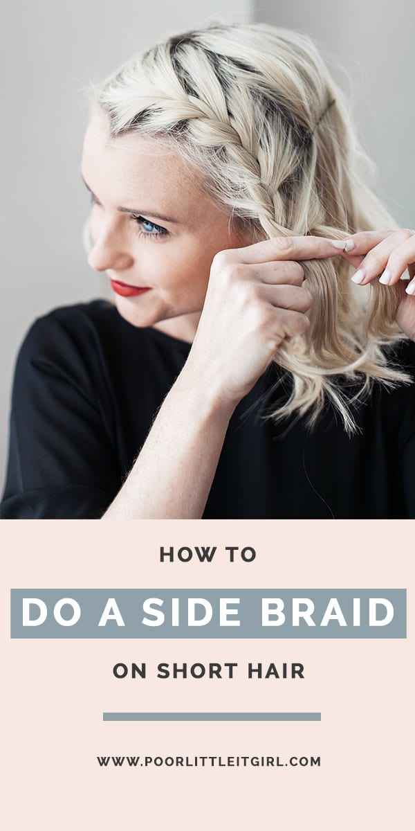 Superb How To Do A Side Braid On Short Hair Beauty Poor Little It Girl Schematic Wiring Diagrams Phreekkolirunnerswayorg