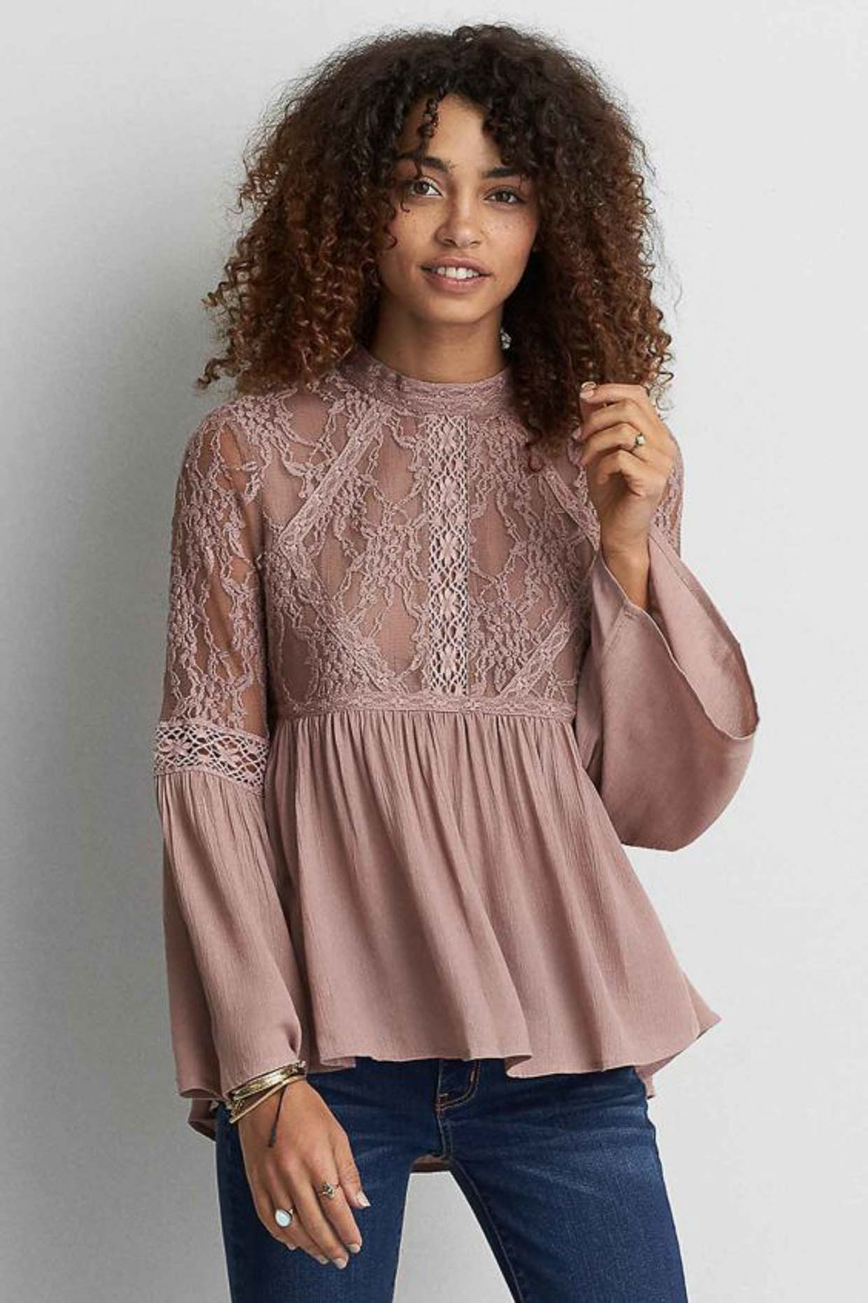 30b26247bd361 Remember earlier when I said that American Eagle Outfitters is similar in  style to Free People  Well
