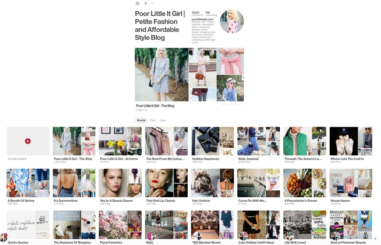 9f30e84a545 How I Grew 3000 Pinterest Followers In Less Than 2 Months - Poor Little It  Girl