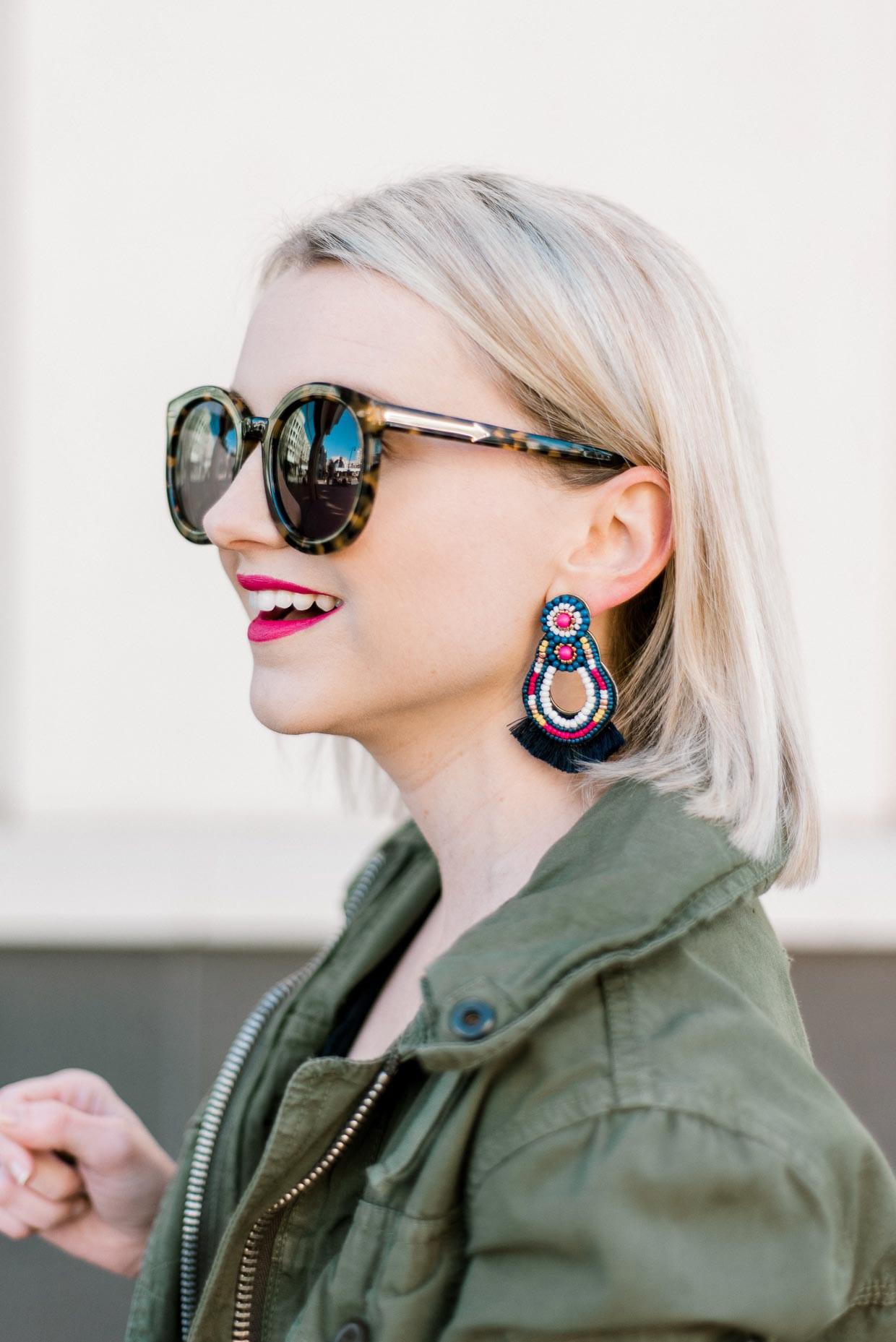 515d3562e The Best Statement Earrings For Spring - Poor Little It Girl