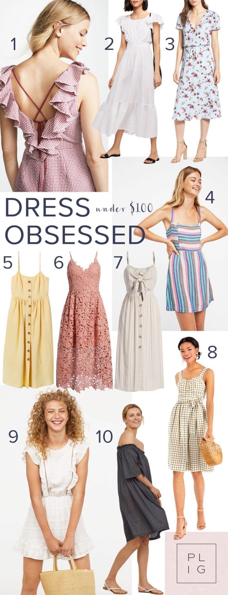 75a238b22f The 10 Best Summer Dresses Under  100 - Poor Little It Girl