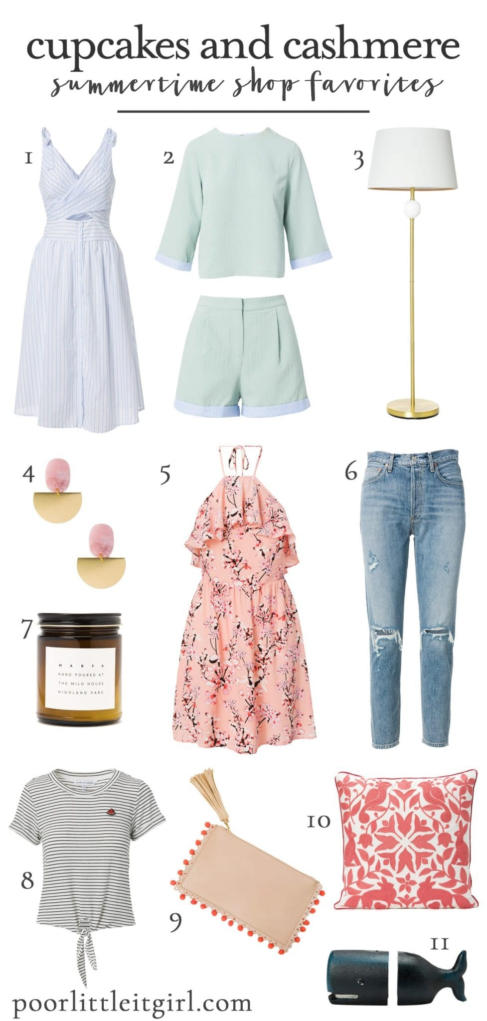 Cupcakes And Cashmere Summertime Shop Favorites Poor Little It Girl