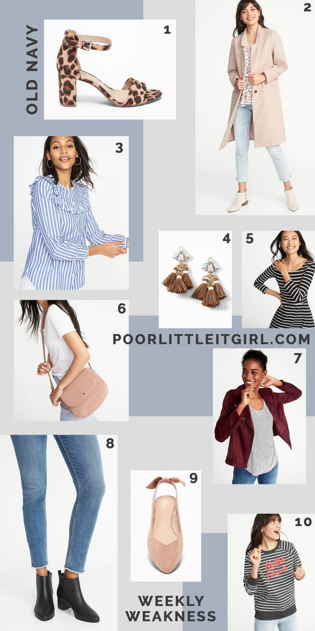 d4d4b5ce4fdb Old Navy Fall Fashion - Weekly Weakness - Poor Little It Girl