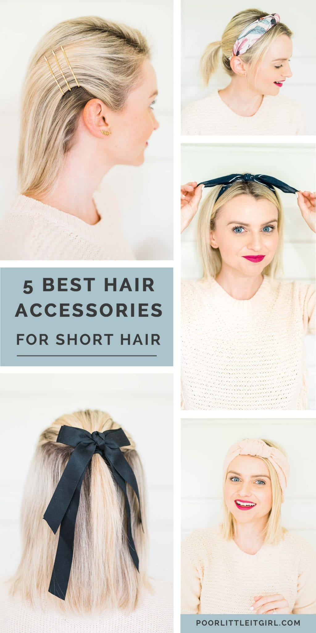 The 5 Must Have Accessories For Short Hair Poor Little It Girl