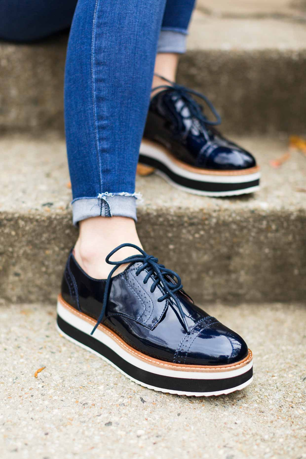 7f3e0cf2d80 How To Style Derby Shoes - Women's Fashion - Poor Little It Girl