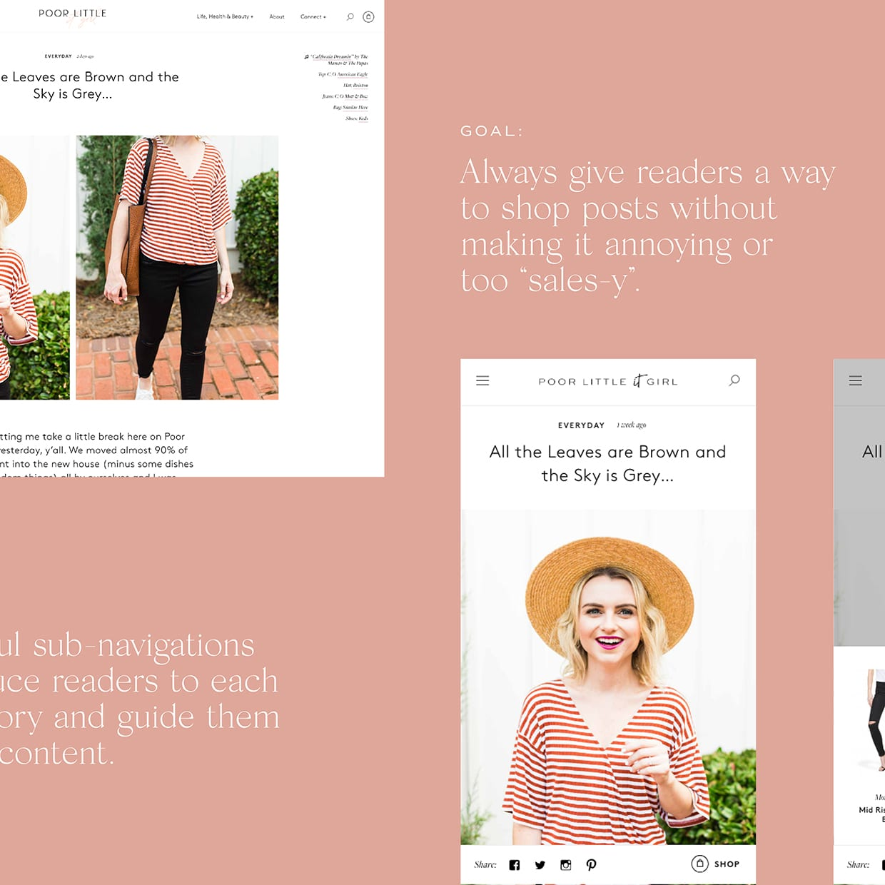 My 3 Favorite New Features On Poor Little It Girl - Style Blog Redesign 92cdfddd3