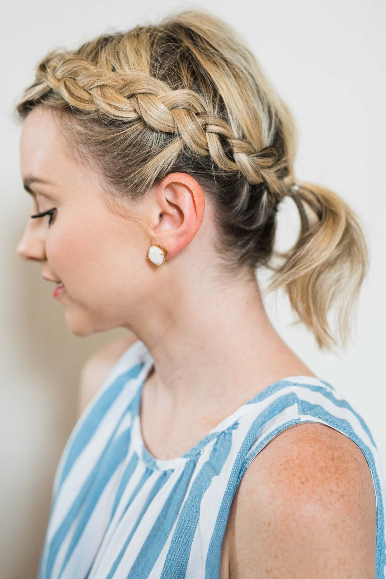 Awe Inspiring How To Do An Easy Side Braid Ponytail Beauty Poor Little It Girl Schematic Wiring Diagrams Phreekkolirunnerswayorg