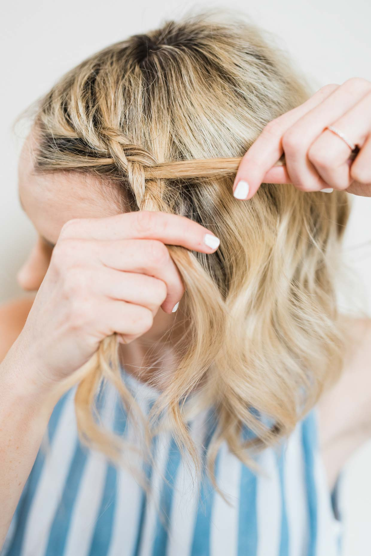 Awesome How To Do An Easy Side Braid Ponytail Beauty Poor Little It Girl Natural Hairstyles Runnerswayorg