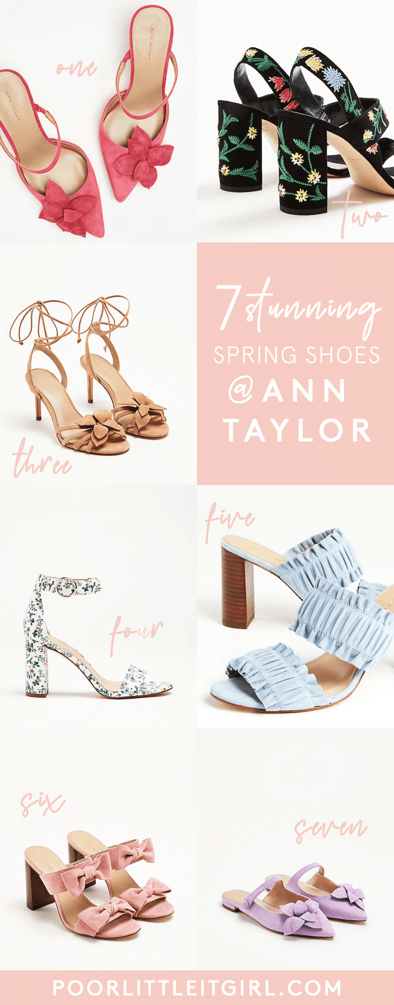 7198c4986b36 That s why this week s Weekly Weakness is all about the 7 Cute Spring Shoes  at Ann Taylor I can t stop obsessing over! Y all