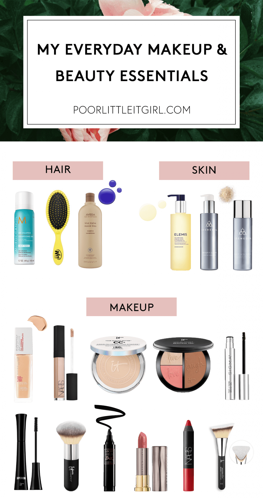 My Everyday Makeup And Beauty Essentials
