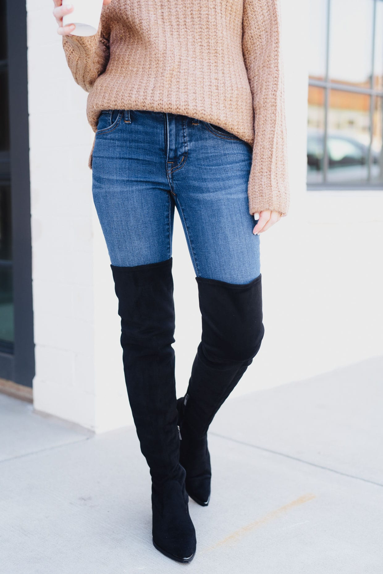 The Knee Boots When You're Petite