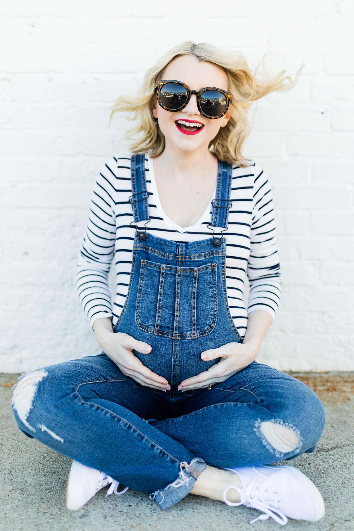 Motherhood Maternity Overalls Pregnancy Poor Little It Girl